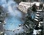 降る雪・たち昇る湯けむり ・・・冬の露天風呂