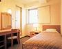 【洋室シングル】明るく、清潔感にあふれ、居心地よい洋室