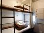 レギュラーキャビン (2人用) Regular Cabin (for 2 people) 2人用2段ベッドのお部屋。