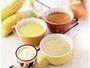 コーン・クリーム・コンソメ、3種類のあったかスープでバランスアップ!