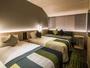 スタンダードツイン ※画像はイメージです ●広さ:25平米 ●ベッド:幅98cm × 長さ196cm 2台