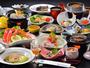 当館自慢の新鮮な海の幸!【夕食料理(冬)】鮑ふかひれプランの一例(約13品-15品)