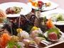 お造りや牛ステーキなど全8品の創作和食のコース料理