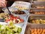 和洋食のご朝食バイキング一例