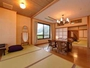 *[湯峠館]二間続き(一例)/寝室と食事処がある贅沢な空間です。