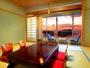 紀伊水道一望の海景色が自慢のオーシャンビュー客室です。