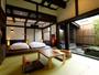 それぞれに趣きの違う、2つの露天付きデザイナーズ客室