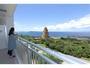 【プレミアムキング】最上階バルコニーからの眺めは絶景です