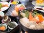 *【夕食(一例)】港町沼津ならではの新鮮な素材の味を楽しめるお料理に舌鼓!
