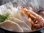 魚介のうま味がつまった魚介鍋