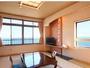 一般客室部屋からは海が一望です