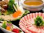 ★夕食豚しゃぶプラン/例