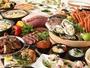 ポルトブッフェ(※イメージ)『広島牡蠣』や『蟹』など、冬の味覚を約40種ご用意♪