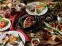ビュッフェ&グリルレストラン「YYgrill」。ディナーのメインディッシュでは、熱々のグリル料理が味わえる