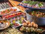 ガーデンビュッフェ「パインテラス」は和食も洋食も盛り沢山!