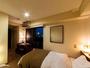 【デラックスツイン】  2-3名におススメの 『25平米・ゆったりツインルーム♪』 有線LANございます!