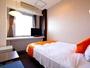 【客室例:シングル】★少し広めのベッド幅125cm★