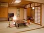 ■和室一例■落ち着いた雰囲気の和室。ごゆっくりお寛ぎ下さい。