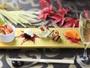 秋の旬の食材を取り入れた創作和食会席(一例)