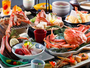 -八種の蟹料理を堪能『極』会席- かに!カニ!蟹!生から焼きまで8種類の蟹料理を味わう究極の蟹会席