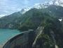 【黒部ダム】ホテルから車20分で玄関口「扇沢駅」へ。高さ日本一の迫力あるダムへ。