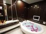 ■バスルーム:ロイヤル・プラチナスイートルームにはTV付きのバスルーム♪