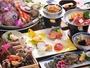 瀬戸内の新鮮魚介を贅沢に使い、上質な県産牛のロースをメインに
