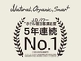 JDパワー5年連続NO.1