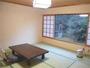 渓谷を見ながら寛げる和室(8畳)洗浄トイレ付