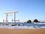 桜井・二見ヶ浦の夫婦岩♪周辺にはおしゃれなカフェもたくさん