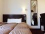 ■シングルルーム■全室150センチ幅のワイドベッド設置