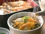 広島限定のあなごまぶし朝食。そのままでよし。茶漬けでまたよし。お好みの食べ方でお楽しみください。