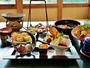 *〔スタンダード〕山海の幸をふんだんに。お造りや煮魚など瀬戸内を実感するお食事です。(一例)