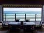 伽藍スイート:白隠の間220度に広がる海の展望