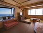 テラス&露天風呂付き特室:最高の絶景をご満喫できるお部屋です。