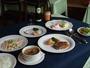 欧風家庭料理のコースディナー
