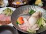 *【夕食】(一例)/旬の素材をふんだんに取り入れた、和懐石をご用意いたします。