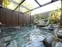 バリ庭園の露天風呂には心地よい滝音が響きます。10月20日にオープンしました!