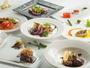 【全10品】メイン料理は、肉と魚をご用意。 その他にもオードヴル4皿、デザート2皿などをご用意。