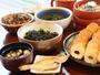 朝食バイキング:島根の食材いろいろ。