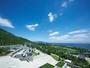 壮大な緑の大地「淡路島 国営明石海峡公園」の大パノラマ