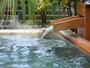天然温泉『こがねの湯』敷地内から湧出る源泉100%の冷鉱泉です。