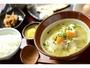 【朝食】6:30-10:00「だご汁を使った熊本の郷土料理中心のボリューム満点の定食。