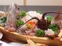 良質な魚介を使用したお刺身舟盛り※季節によってお出しするものが変わります。