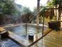 2010年12月にリニューアルした貸切露天風呂