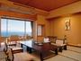 全ての客室より広大な駿河湾と富士山を一望