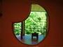 8畳+4.5畳露天風呂付き特別室「観月の間」。月の形が可愛いこちらの客室は女性に特に人気