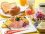 朝食バイキング:洋食盛り付け例