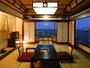 【初島を望む2フロア式メゾネット「金沢」】写真は上のフロア「和室」10畳間でございます。