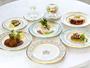 最高級の食材を贅沢に使ったフルコースディナーをご堪能ください。